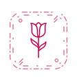 tulip icon vector image vector image