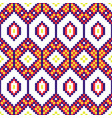 african geometric seamless pattern beaded texxture vector image