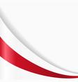 belarus flag background vector image vector image