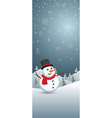 christmas banner2 vector image vector image