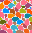 Colorful Seamless Abstract Liquid Background vector image