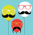 Hipster Balloons vector image vector image