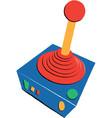 retro video game joystock children vector image vector image