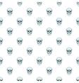 Skull pattern cartoon style vector image