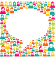 Speech bubble marketing campaign vector image vector image