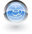 coffe hot icon logo vector image