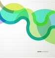 Background with abstract waves vector image vector image