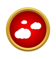 Clouds icon simple style vector image vector image