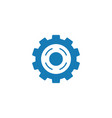 cog gear graphic design template isolated vector image