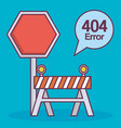 error 404 design vector image
