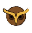 owl icon image vector image vector image