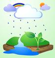 rainland2 vector image vector image