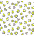 retro abstract 50s circle dots geo seamless vector image