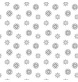 snowflakes seamless background see more seamless vector image vector image