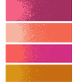 spray paint gradient detail in pink orange vector image vector image