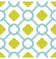 tile green and blue decorative floor tiles pattern vector image vector image