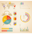 time infographic vector image