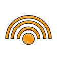 wifi signal internet connection web icon vector image