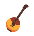 national russian and ukrainian wooden stringed vector image