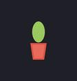 cacti computer symbol vector image