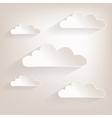 Cloud2 vector image vector image