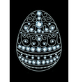 Diamond Easter Egg vector image vector image
