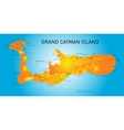 Grand Cayman vector image