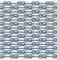 marine knot seamless pattern vector image