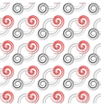 Seamless colored background with spirals vector image vector image