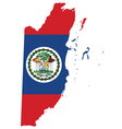 Belize Flag vector image vector image