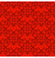 Bright red gradient seamless pattern vector image vector image