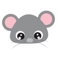 cute bamouse on white background vector image