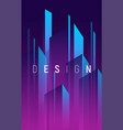 gradient geometric abstract background vector image