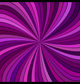 purple abstract psychedelic spiral ray stripe vector image vector image