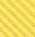 Seamless Yellow Stripe Background vector image vector image