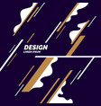 trendy abstract background composition vector image vector image
