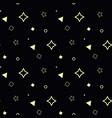 trendy geometric elements seamless geometric vector image