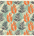 tropical foliage seamless pattern repeat on vector image vector image
