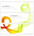Abstract template banner vector image