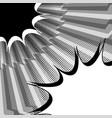 comic monochrome duel concept vector image vector image