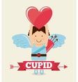 cupid cute vector image vector image