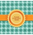 cute background with ribbon vector image vector image