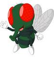 fly cartoon vector image