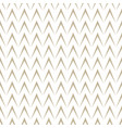 geometric herringbone on white background vector image