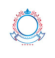 graphic emblem created using royal symbol lily vector image