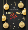 poster for christmas sale vector image vector image