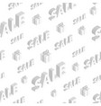seamless pattern on sales vector image vector image