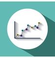 trend symbol design vector image vector image