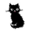 cat spotted striped vector image