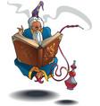 arabian wizard vector image vector image
